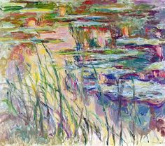 Water Lilies Reflections on the Water ~ Claude Monet