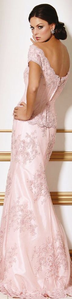 jaglady. Pink dress/gown