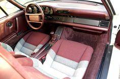 Porsche 959 Prototype Car Interior