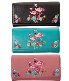 Banned Flamingo Wallet Purse