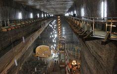 Natural wonders - Turda Salt Mine Romania 5