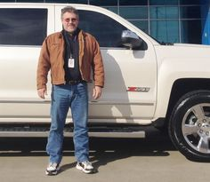 LANCE's new 2015 CHEVROLET SILVERADO! Congratulations and best wishes from Orr Chevrolet and WESTON FROST.