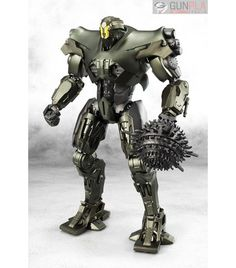 """Titan Redeemer, the Jaeger from the February 2018 film Pacific Rim: Uprising, joins the Robot Spirits line! It includes a mini """"Scrapper"""" robot figure plus optional hand and gun parts to create some mecha mayhem in your collection! Star Citizen, Fantasy Football Rings, Pacific Rim Jaeger, Sci Fi Armor, Star Wars, Mode Shop, Toy Soldiers, Sci Fi Fantasy, S Pic"""