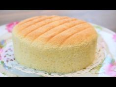 How To Make Super Soft Sponge Cake | Butter Sponge Cake Recipe | 像棉花般柔软的蛋糕---棉花蛋糕  | 燙麵法 - YouTube