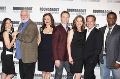 The cast of Broadway's DON'T DRESS FOR DINNER