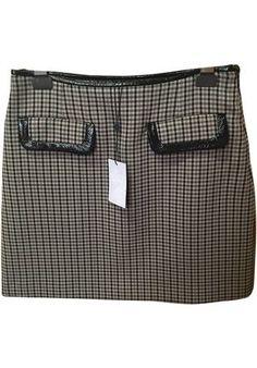 Compra mi artículo en #vinted http://www.vinted.es/ropa-de-mujer/mini-faldas/807919-falda-con-cuadros-de-lana-claudie-pierlot