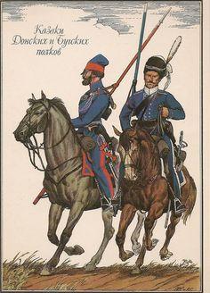 RUSSIA - Cosacchi del Don, 1812