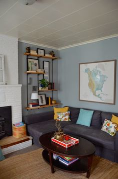 LIVING ROOM TOUR by Meg Padgett from Revamp Homegoods