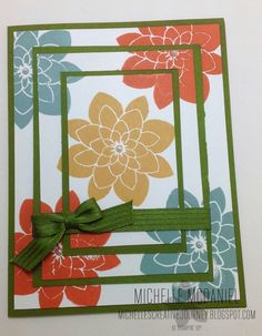 Triple Stamping Technique - Crazy about You Stamp Set; In Colors 2014_2016; Stampin' Up!; Creative Journey Blog