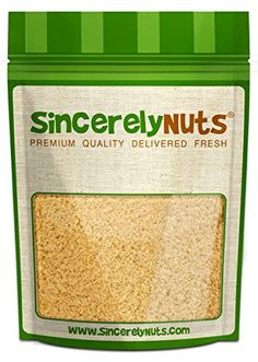 Sincerely Nuts Natural Macadamia Nuts Flour Meal - Three (3) Lb. Bag -Finest Quality, Pure Ground - Full of Healthy Nutrients - Kosher Certified! * Discover this special deal, click the image : Baking supplies