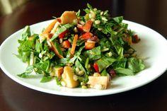 Wheat Berry Salad with Kohlrabi, Apples & Sunflower Seeds | The Taste Space