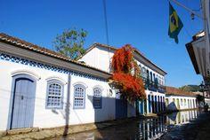 ruas de Paraty - Brasil