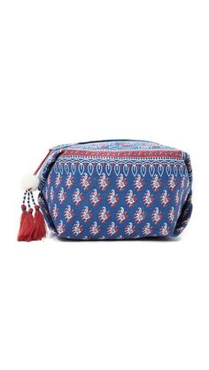 Star Mela Anka Cosmetic Pouch ($35): This cute cosmetic bag is proof that tassels can make everything better, even Mondays. Stash travel-sized versions of your fave products in this bag and keep it in your desk drawer.