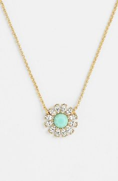 kate spade new york 'estate garden' pendant necklace available at #Nordstrom