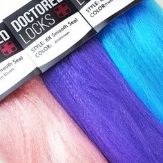 KK Smooth Seal was meant for anyone who's ever wanted unicorn hair, stunning box braids, or creative dreadlocks. Get the supplies (now in colorful melts!) at doctoredlocks.com :)