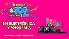 Julio Regalado de Comercial Mexicana Electrónica y Fotografia