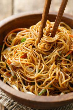 Stir-Fried Soy Sauce Noodles