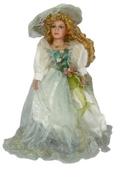 Victorian Porcelain Doll-Stunning Victorian doll-Porcelain Victorian Doll-Faith