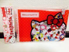 Sanrio Hello Kitty Photo Album 24pieces NEW DESIGN SO CUTE Polypropylene DAISO