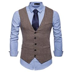 Embellishment:Belt,Button,Pocket,Solid; Lining Material:Terylene; Fabric:PolyCotton Blend; Style:Work,Vests; Occasion:Wedding,Daily Wear; Vest Buttons:5; Pattern:Solid Colored,Solid Color; Front page:WE; Net Weight:0.23; Listing Date:06/14/2019; Waist:; Chest: Men Formal, Formal Suits, Formal Dress, Mens Suit Vest, Mens Suits, Business Casual Men, Men Casual, Gilet Costume, American Dress