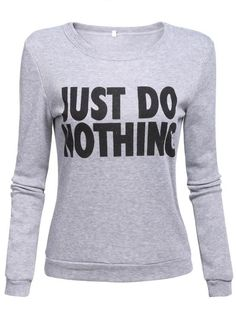 Just Do Nothing Sweater
