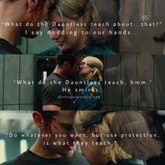Allegiant page 31 Divergent Memes, Divergent Hunger Games, Divergent Fandom, Insurgent Quotes, Divergent Trilogy, Divergent Insurgent Allegiant, Tfios, Tris And Tobias, Tris And Four