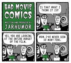 Film making on a Budget. Bad Movie Comic by JARHUMOR