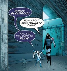 kobik and bucky Marvel Comic Universe, Marvel Funny, Marvel Cinematic Universe, Marvel Avengers, Marvel Comics, Baby Avengers, Young Avengers, Bucky Barnes, Steve Rogers