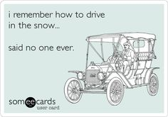 i remember how to drive in the snow... said no one ever.  #minnesota #snow