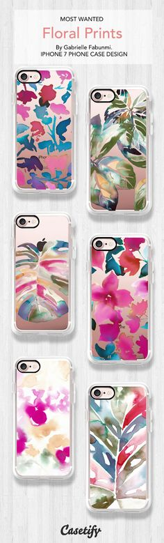 Most wanted Floral Prints iPhone 7 and iPhone 7 Plus case. Shop them all here > https://www.casetify.com/artworks/jnLRMCjBGI