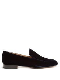Marcel velvet loafers | Gianvito Rossi | MATCHESFASHION.COM