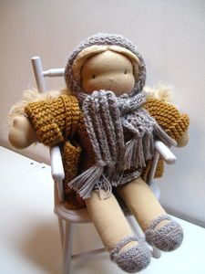 love all the crocheted clothes