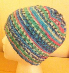 Knit Hat in Sirdar Crofter Alfie