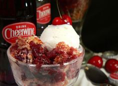 Cheerwine Cherry Cobbler