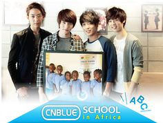 Please donate some dollars to help CNBLUE ' s charity project,  for more info : cnblueschool_1@kfhi.or.kr  Thanks