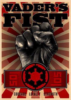 Star Wars Propaganda by Russell Walks