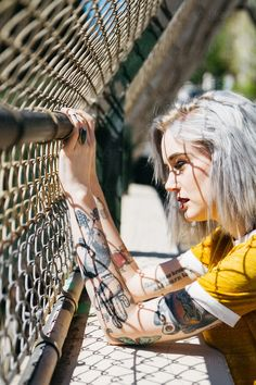 Portrait Of Urban Young Female In City Next To Chain Link Fence portrait woman girl fashion fence blonde bridge 410742428515418045 Infrared Photography, Urban Photography, Photography Women, Amazing Photography, Street Photography, Portrait Photography, Photography Ideas, Urbane Fotografie, Model Tips