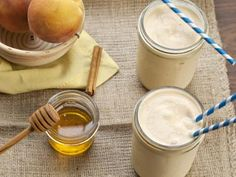 Peach Pie Smoothie Recipe — Your favourite flavours in Peach Pie come together in this liquid breakfast.