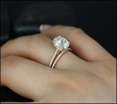 rose gold engagement rings - Google Search