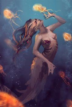 Siren - Wip by telthona