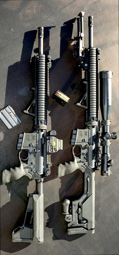 A pair of Spikes. Setup for different applications #guns #gun #pistols #pistol #rifle #rifles #shotguns #shotgun #carbines #carbine #weapons #weapon #selfdefense #protection #protect #concealed #barrel #barrels #2ndamendment #2amendment #america #firearms #firearm #caliber #ammo #shell #shells #ammunition #bore #bullet #bullets #munitions
