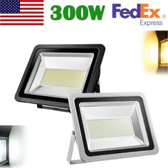 Outdoor Security and Floodlights 183393: 300W Cool Warm White Led Flood Light Outdoor Landscape Security Floodlight 110V -> BUY IT NOW ONLY: $244.71 on eBay!