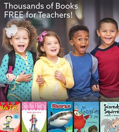 Epic for Educators is FREE for elementary school teachers and librarians in… 3rd Grade Reading, Kindergarten Reading, Teaching Reading, Reading School, Teaching Spanish, Guided Reading, Beginning Of School, Middle School, Children's Literature