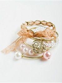 Pearl Bangle Bracelets vanity.com