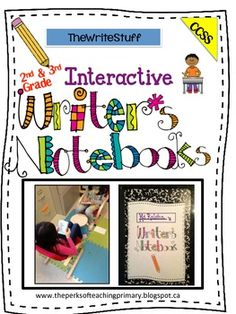 Awesome Interactive Writer's Notebook! 50 pages of creative ideas! ($)