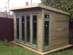 12 x 12 Garden office/gym/Hot tub/summerhouse/fully pressure treated in Garden & Patio, Garden Structures & Shade, Garden Sheds | eBay