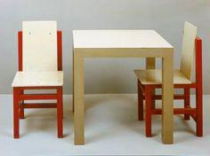 Marcel Breuer, child's chair, 1923