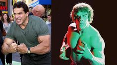 Lou Ferringo~~ A deaf man who played the Incredible Hulk in the 70s show. He also collected many bodybuilder titles.