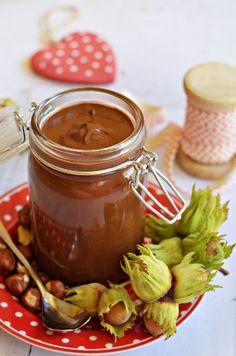 Homemade hazelnut cream in mug, Food And Drinks, Homemade is the real . Healthy Baking, Healthy Snacks, Sauerkraut, Food Crafts, Desert Recipes, Sweet Recipes, Food Porn, Food And Drink, Cooking Recipes