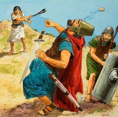 Top 10 Toughest Characters In The Bible David And GoliathKing